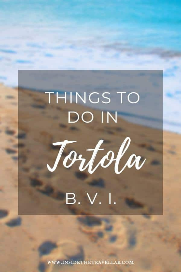A beautiful guide to authentic things to do in Tortola in the British Virgin Islands. Enjoy this Caribbean island through food, history, landscape and more. #Caribbean #Travel #Ideas #BVI
