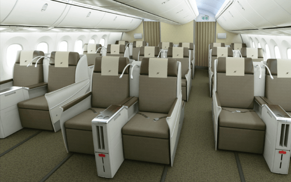 Royal Brunei Business Class Review on the Dreamliner 787
