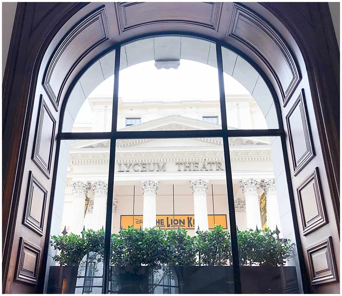 Covent Garden Hotel London West End One Aldwych Window View