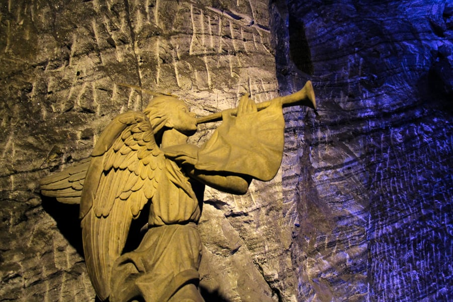 Angel in Salt Cathedral