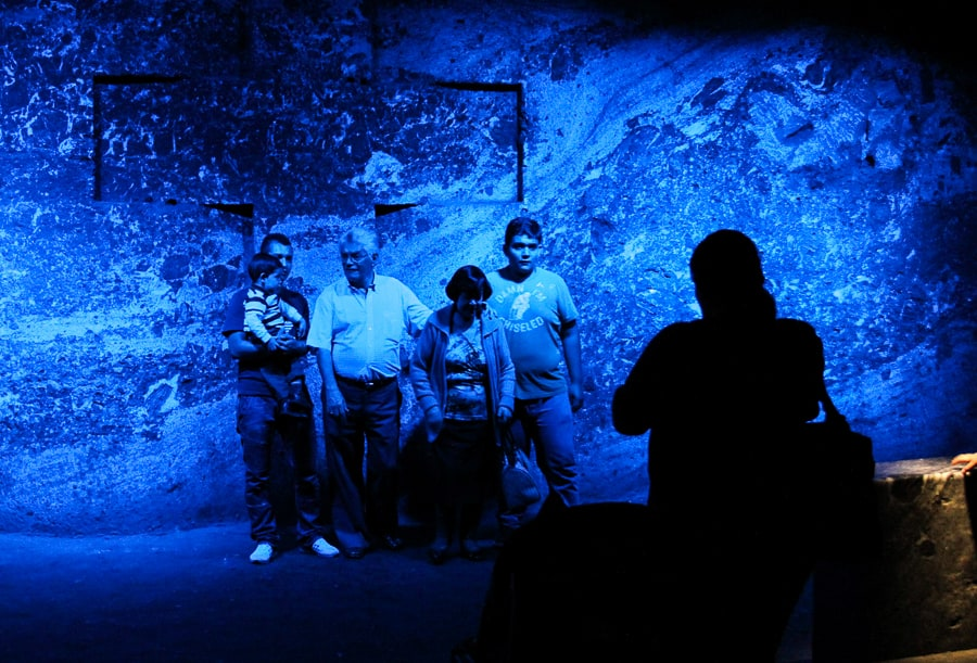 Photos in the Salt Cathedral