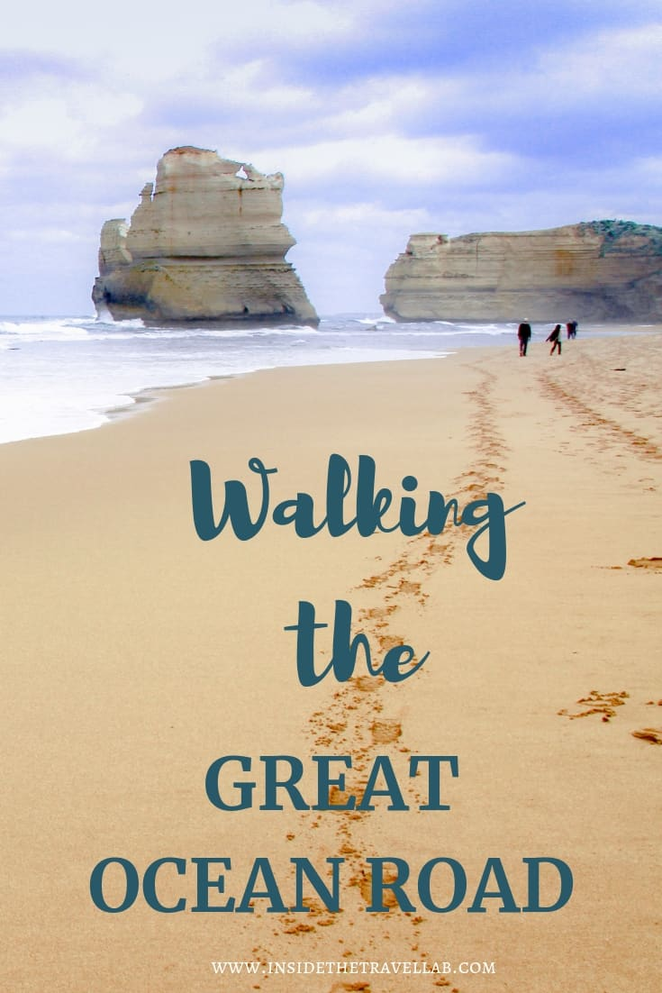 Walking the Great Ocean Road. The Great Ocean Walk isn't as famous as the road but it reaches beautiful places that the road just can't. Here's a glimpse into what it's like to walk along Australia's most beautiful coast to the 12 Apostles. #australia #greatoceanroad