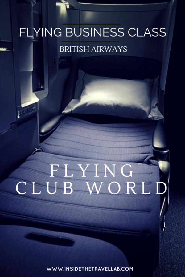 Business Class British Airways via @insidetravellab