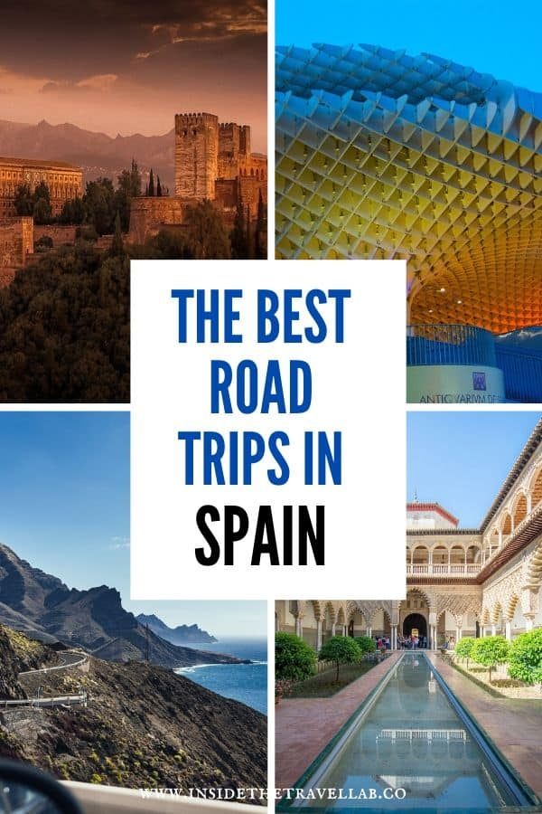 A hand-picked collection of the best road trips in Spain. Choose the one that's right for you and enjoy driving through this astonishingly diverse country. Plan your fly-drive, independent road trip, driving holiday or whatever you want to call it and have a great time! Spanish road trip, here you come! #Spain #RoadTrip #Driving