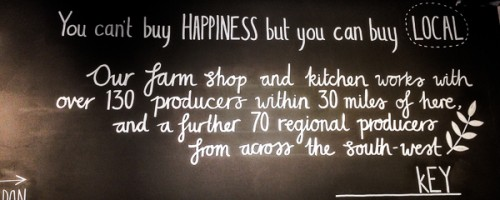 Buy happiness, buy local