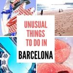 Unusual things to do in Barcelona