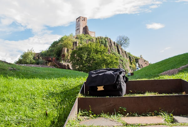 Unica V Messenger Camera Bag at Sigmundskron Castle