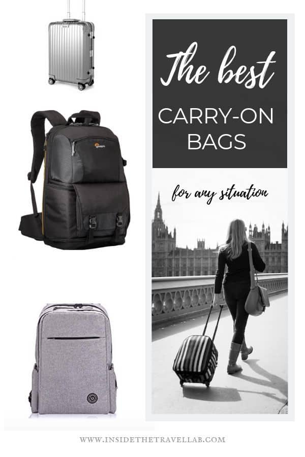 The best cabin luggage or hand luggage to suit all situations. Look after your camera gear, your back, your shoulders and your sanity with these tried and tested backpacks, wheelies and lightweight duffel bags. Includes changing or diaper bags as well as glamorous stylish options! #Travel #Luggage #Suitcases #TravelTips