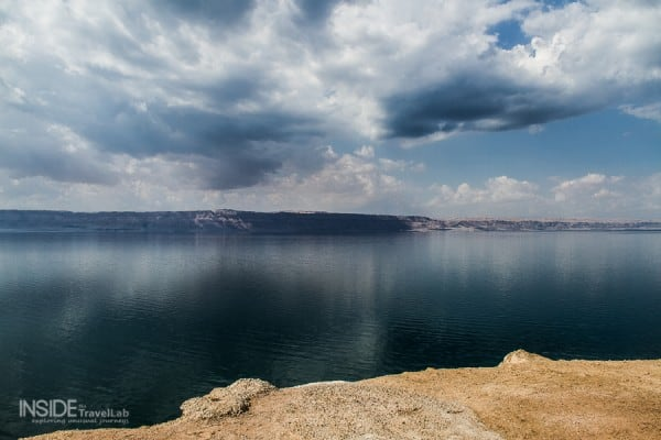 Panorama of the Dead Sea