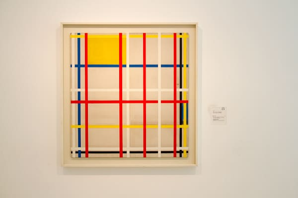 Art in Thyssen colour grid