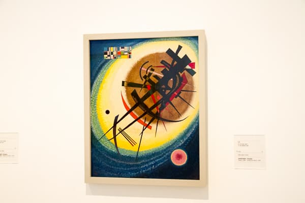 Art in Madrid Kandinsky