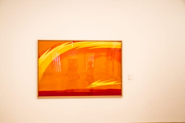 Art in Madrid Thyssen-Orange
