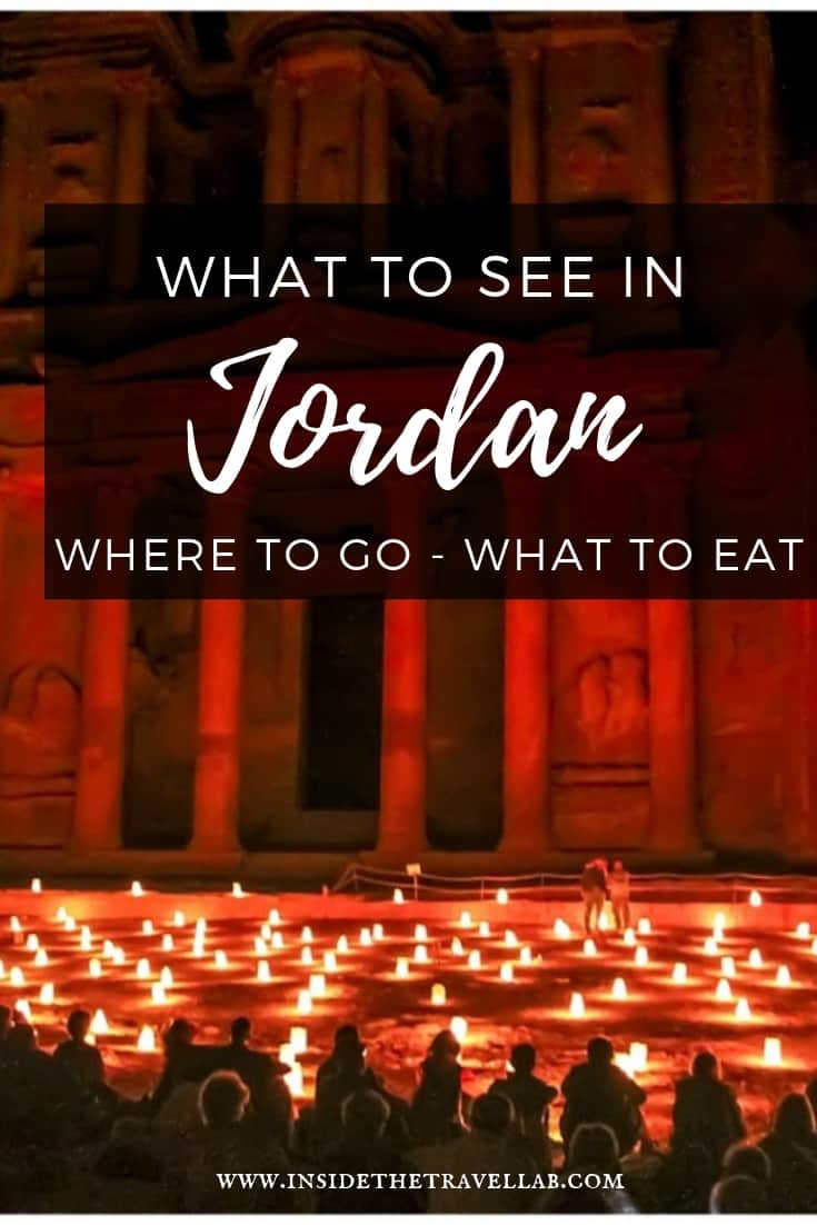 Jordan Travel Tips and Things to Do. A lovingly curated, hand-tested collection of classic and unusual things to do in Jordan. From UNESCO World Heritage to adventure to great food and more. Includes classics like Petra and the Dead Sea but also unusual experiences like stargazing, hot knafeh and seeing one of the oldest maps in the world. #Jordan #Travel