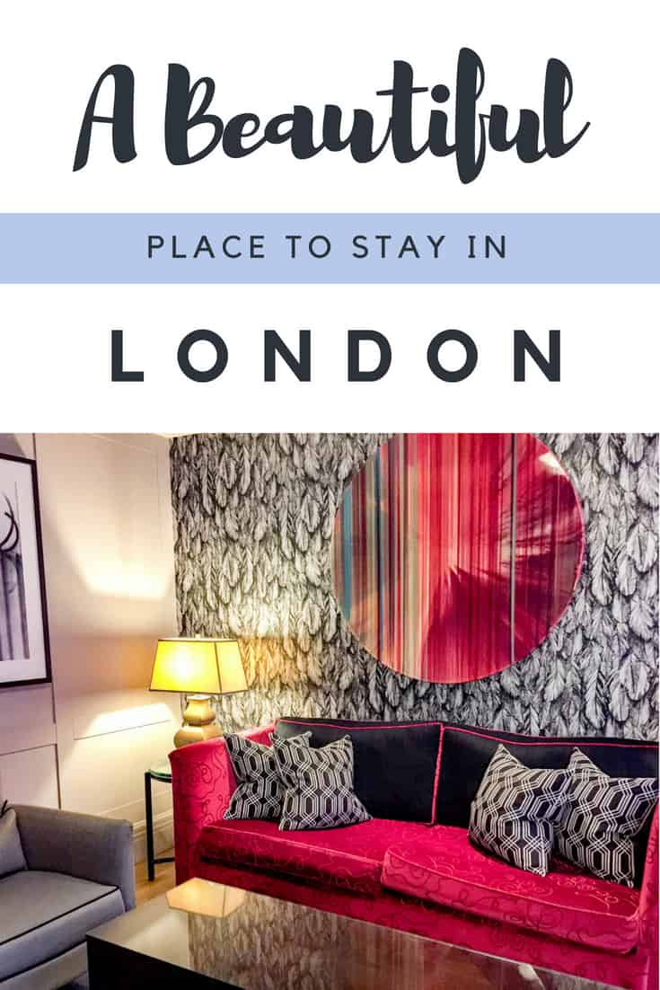 A beautiful boutique luxury hotel in London near Oxford Street, Hyde Park, Marble Arch and