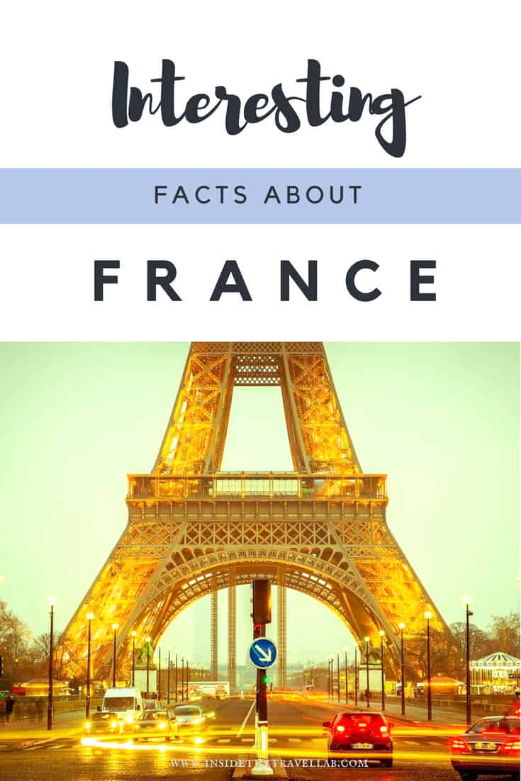France facts to make you laugh and cry - and learn something about this incredible country. Find more than 43 interesting facts about France here, with easy ways to find out more about travel to France as well. #France #Facts #Paris #French