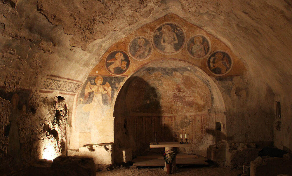 Narni in Umbria Italy a subterranean candlelit journey