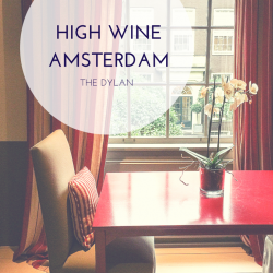 Trying out high wine in Amsterdam at the classy Dylan Hotel - from @insidetravellab