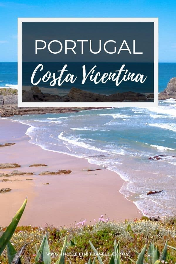 Costa Vicentina runs from the Algarve to the Alentejo in Portugal and is Europe\'s longest protected coastline. It\'s also stunning, a wild expanse of untamed beauty, sleeping villages and tasty places to eat. Here\'s a hiking itinerary as well as other things to do in Costa Vicentina. #Travel #Portugal #Alentejo #Algarve