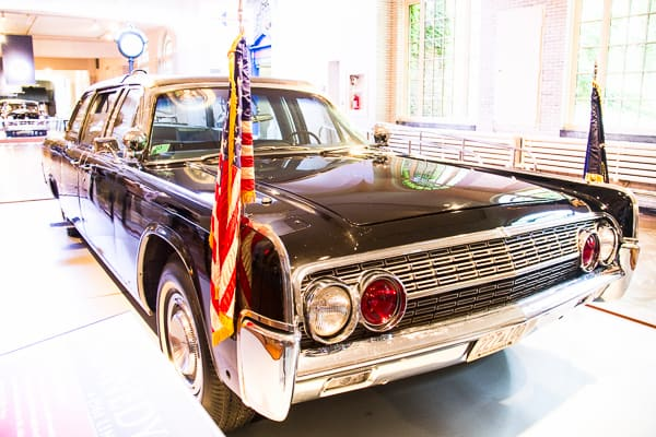Presidential car at the Henry Ford Museum via @insidetravellab