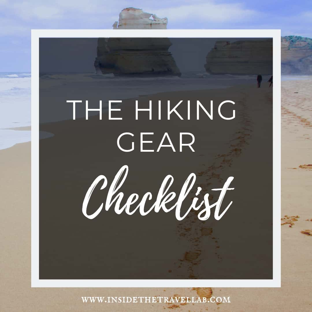 The Hiking Gear Checklist - Essentials to pack for a walking holiday