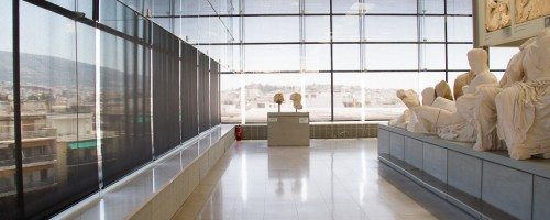 The staggering Acropolis Museum in Athens Greece from @insidetravellab
