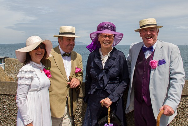 Dressing up for Bloomsday in Dublin