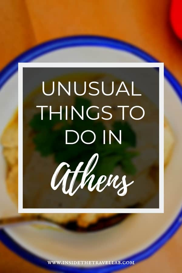 Unusual things to do in Athens - a guide to how to have an amazing trip to Athens, Greece. From foodie recommendations to hotel stays, meeting with locals, museums, sunset strolls and more. If you're looking for the best things to do in Athens or fun things to do in Athens then this is for you! #Athens #Attica #Travel