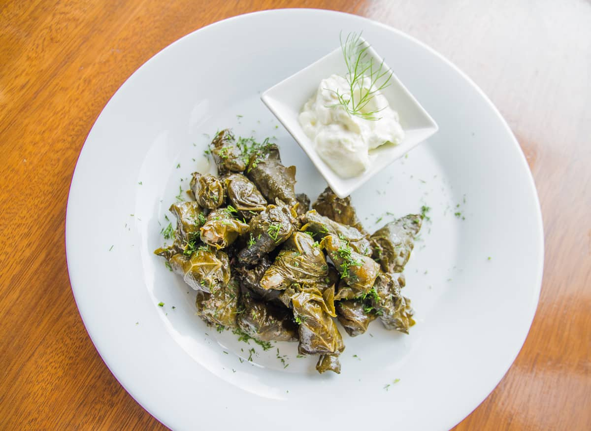 Tasty and unusual things to do in Athens involves finding stuffed vine leaves among other things