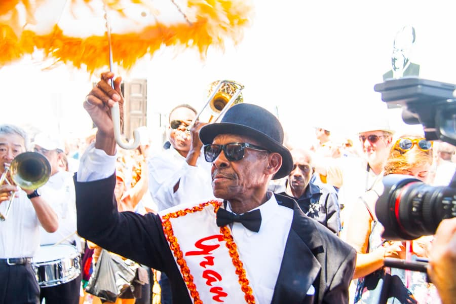 The beauty of Satchmo SummerFest: it offers layers for all. Music aficionados, New Orleans residents, and people like me: here to explore the city for the very first time. It is definitely an unusual thing to do in the USA.