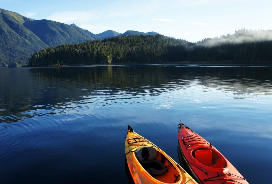Looking for an unusual thing to do in the USA? Thrill in the experience of kayaking through southeast Alaska.