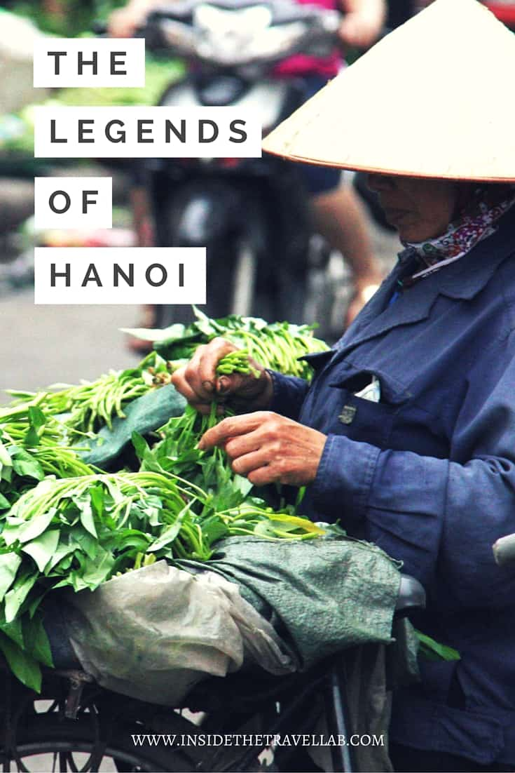 Hanoi, Vietnam, as it turns out, is a city of lakes and the word Ha noi even translates to mean the city between two rivers - via @insidetravellab