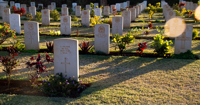 British cemetery in Madagascar