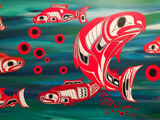Vancouver Canada First Nations Art at Skwachays Lodge