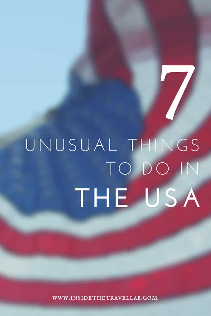 Unusual things to do in the USA > Let's brush up on our stars and stripes and have a look at some unusual things to do in the USA - via @insidetravellab