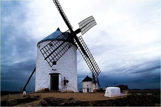 The Windmills of Don Quixote in Consuegra