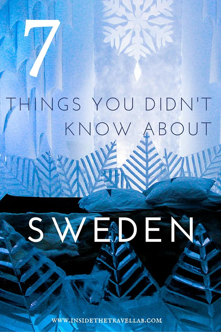7 things you didn't know about Sweden via @insidetravellab