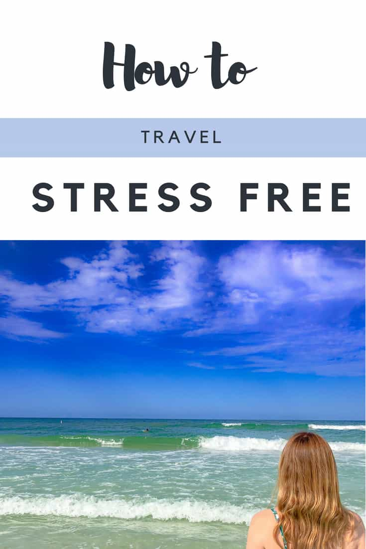How to travel stress free with these stress free travel tips. Travel can give you headaches, for sure. But these stress free travel ideas can leave you happy and relaxed in no time. Tried and tested for all budgets. #traveltips #TravelIdeas #StressFree