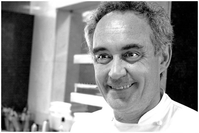 Ferran Adria at El Bulli in Spain