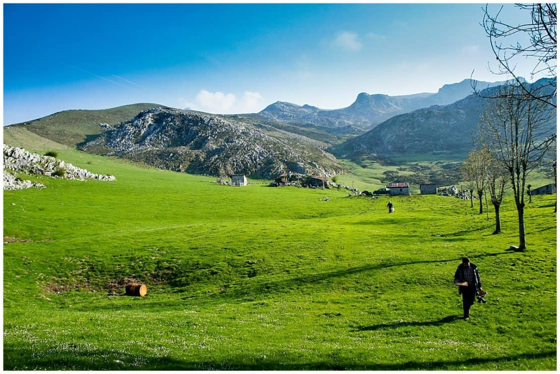 Transcantabrico train and the Picos Europa - Asturias points of interest