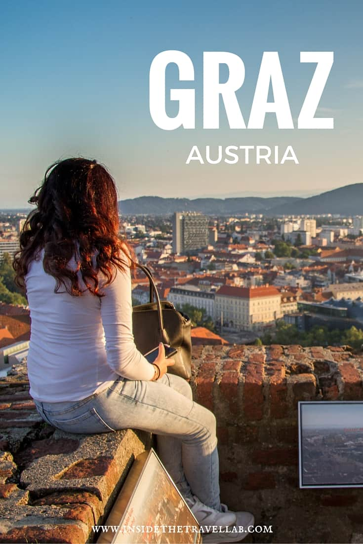 Graz, Austria - the cool city of design with a sugar laced bakery that dates back centuries. A cool and unusual weekend break in Europe via @insidetravellab