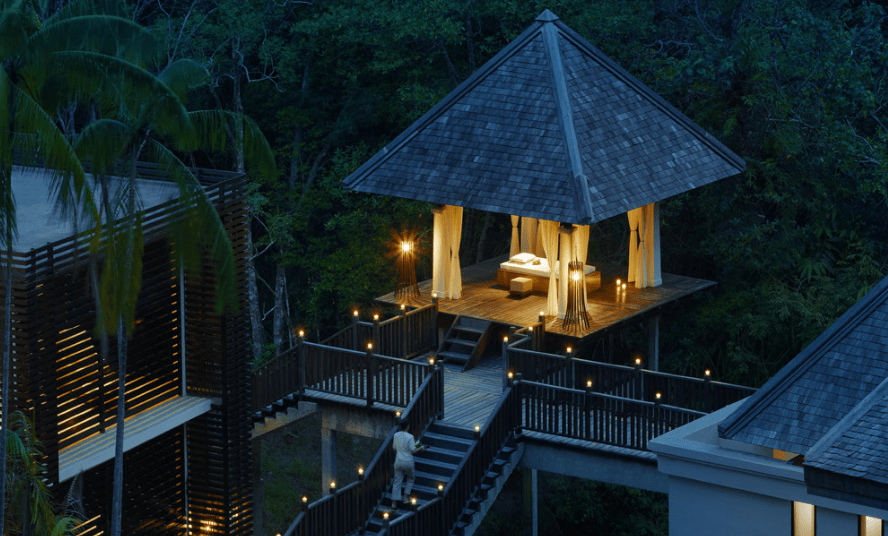Gaya Island Resort best spa in Borneo