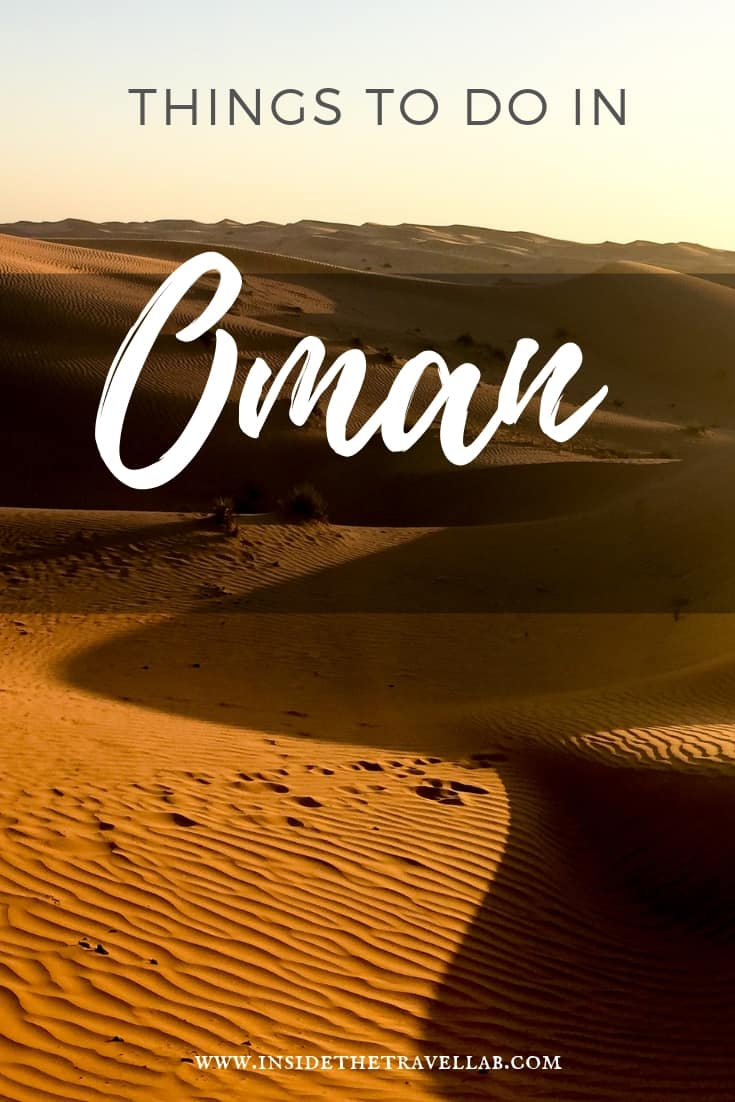 Oman Travel Things to Do - Find the perfect two week driving itinerary to Oman here including plenty of things to do. See turtles. Dolphins. Mountains. Beaches. Castles and forts and camels and dunes. And have plenty of authentic travel experiences along the way in this beautiful part of the Middle East. #Oman #OmanTravel #MiddleEast