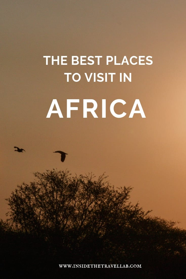 The Best Places to Visit in Africa: Africa offers so many amazing travel experiences that it can be difficult to narrow things down. Beyond Cape Town and big safari trips, let these incredible experiences in Africa guide your next trip. #Africa #TravelAfrica