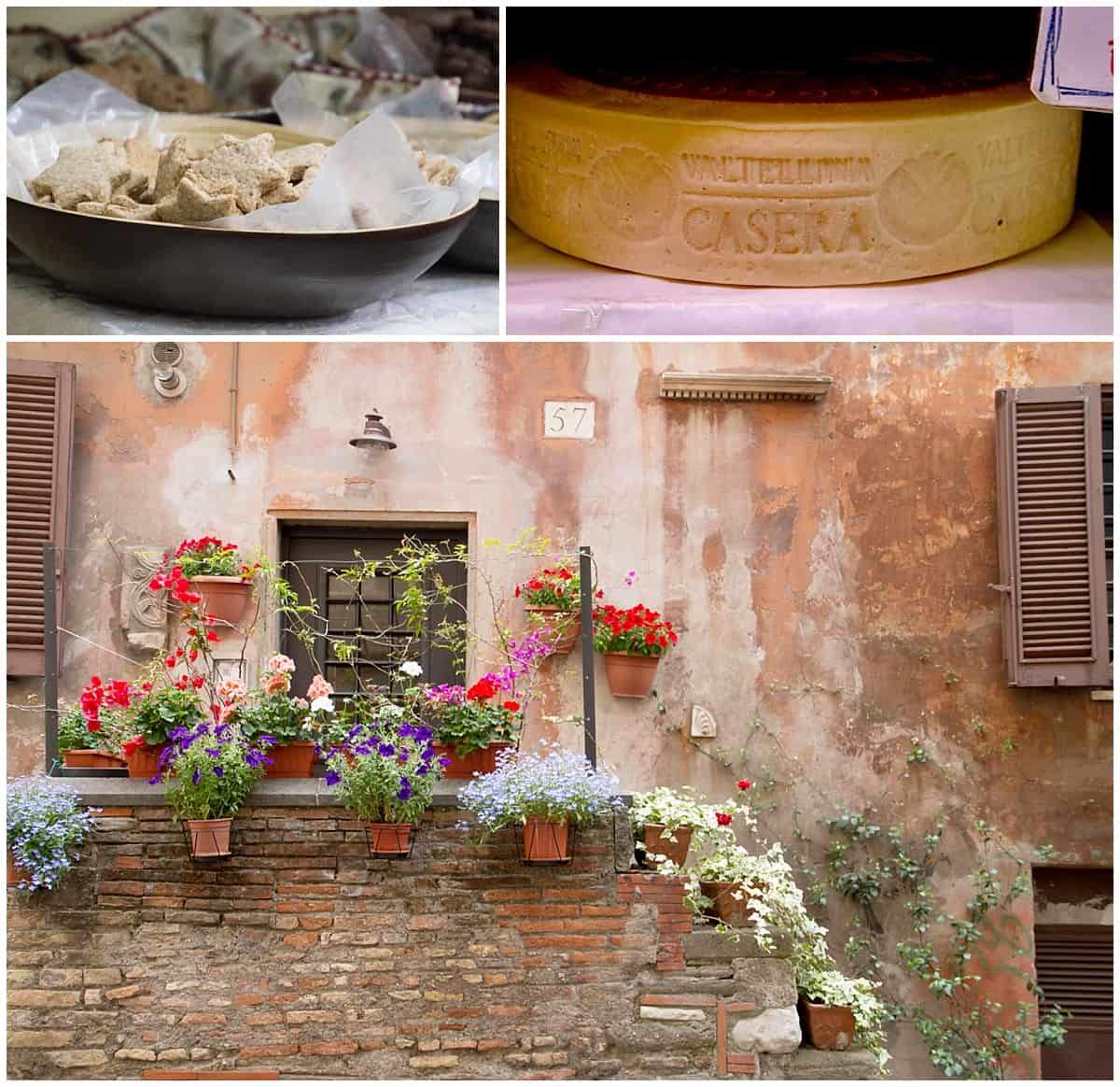 food tour Rome snapshots of Trastevere