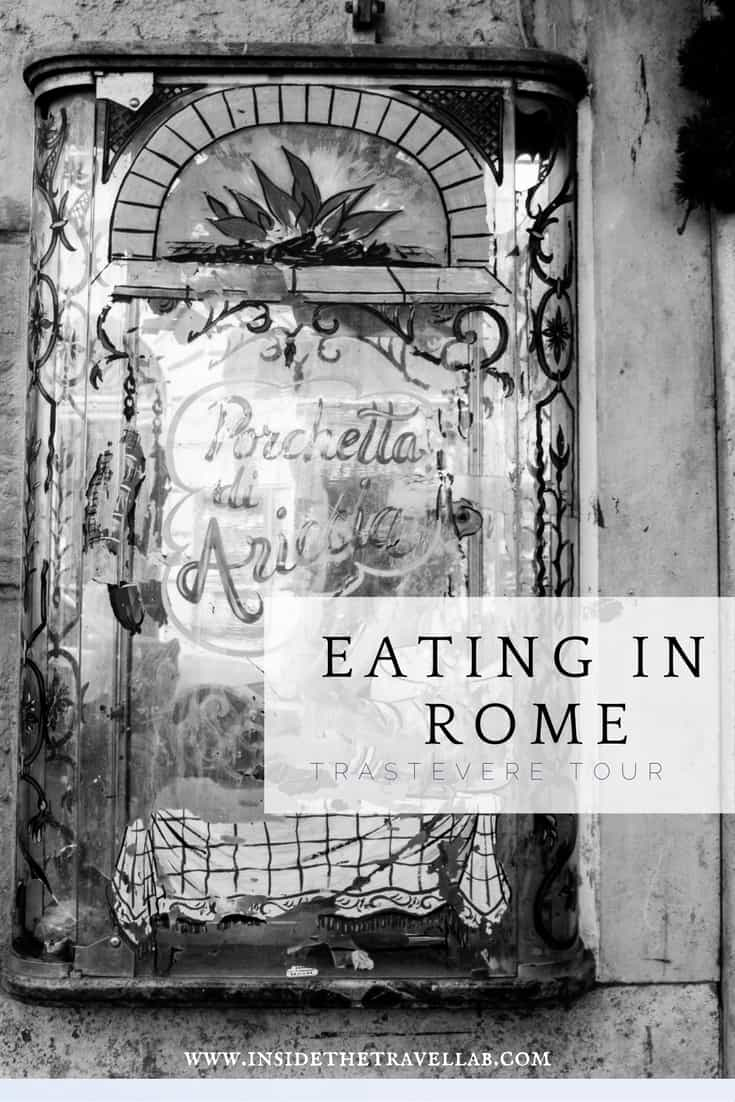 Gorgeous food tours in Rome with Eating Europe via @insidetravellab