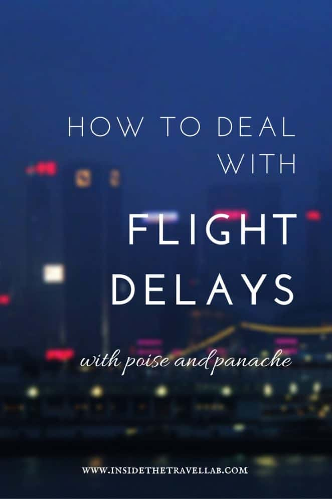 How to deal with flight delays and cancellations via @insidetravellab