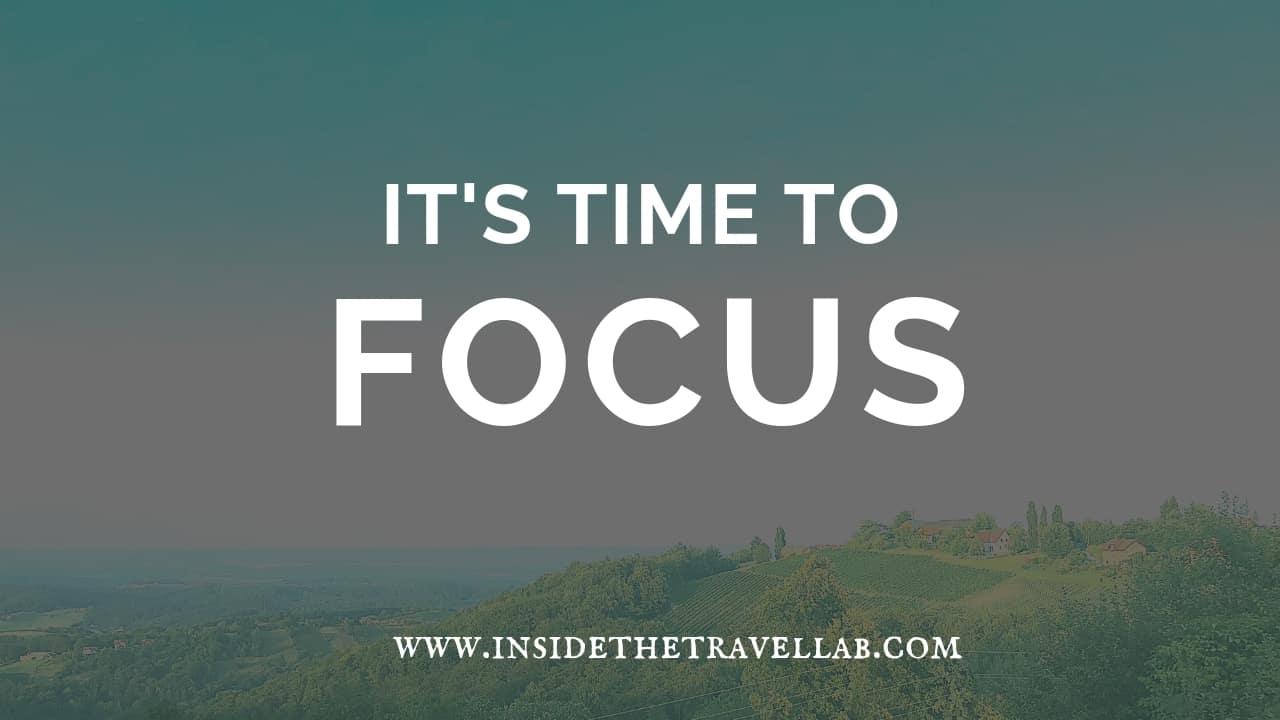 Dealing with flight delays - It's time to focus