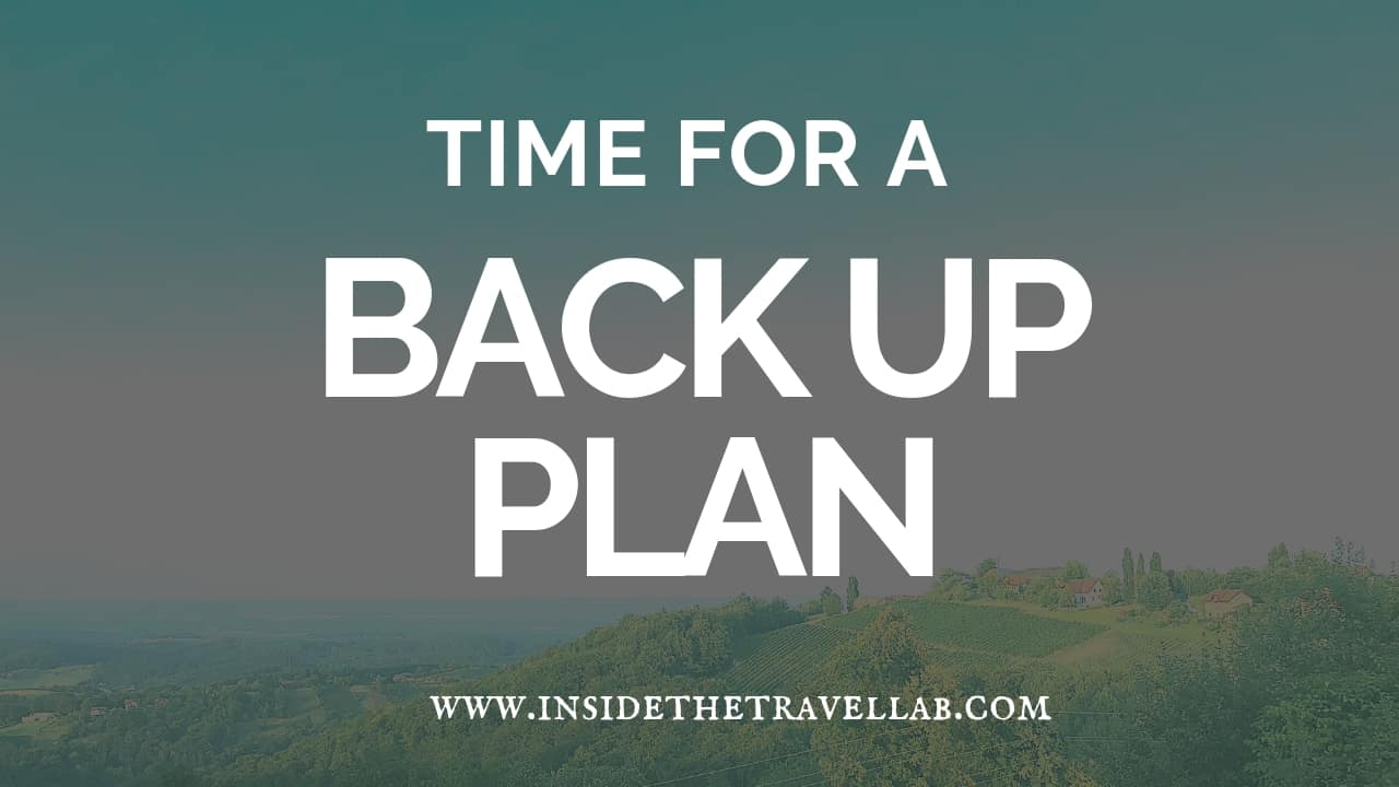 Dealing with Flight Delays - Time for a Backup Plan