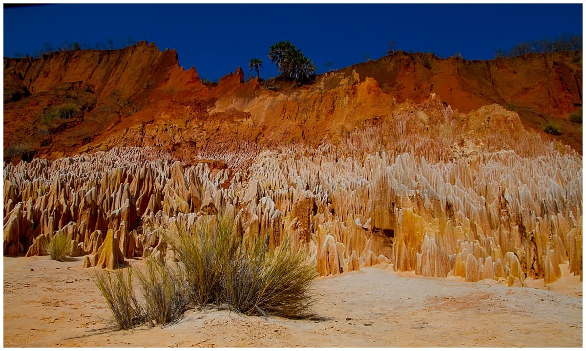 Red Tsingy Rock Formation in Madagascar