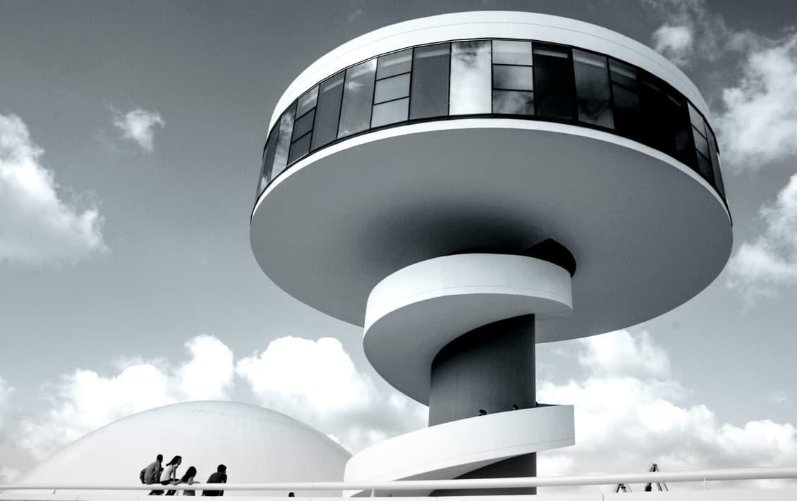 Spain - Asturias - Aviles - Oscar Niemyer